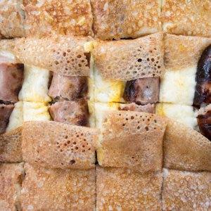 galette à la saucisse La Cabane du Breton Crêperie Restaurant à Arcachon
