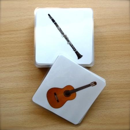 imagier instruments de musique