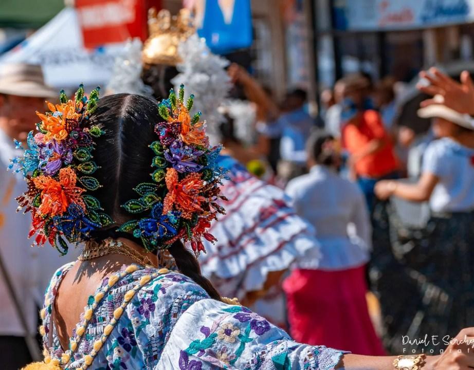 Desfile de las Mil Polleras en Las Tablas