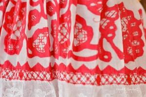 Pollera de gala con labor sombreada - San José - Febrero de 2010