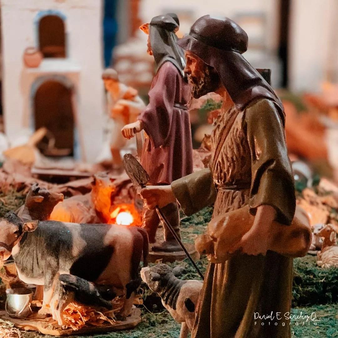 Nacimiento en la Iglesia de Nuestra Señora de la Merced