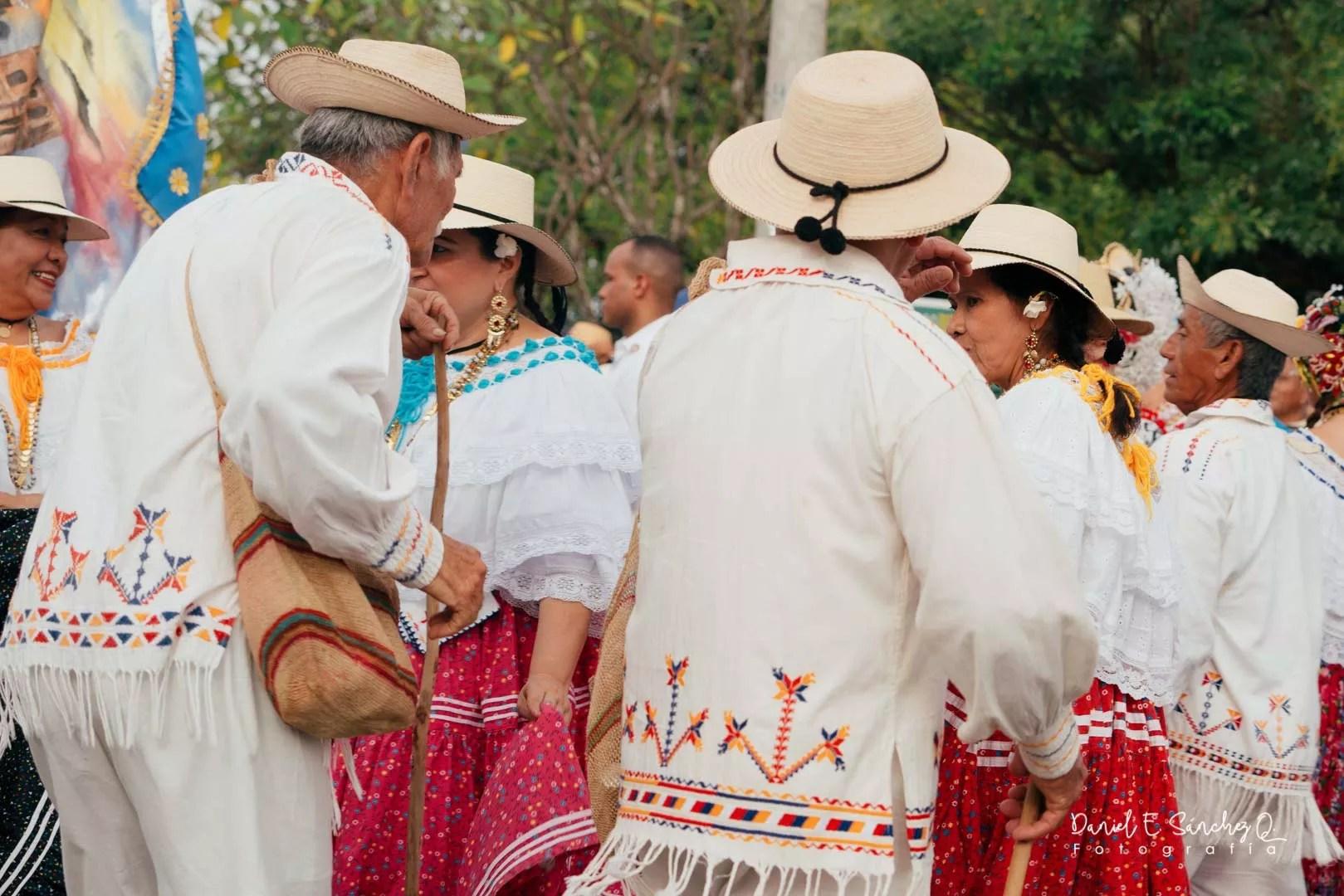 Pollera y chingo ocueño - Desfile de las Mil Polleras 2020