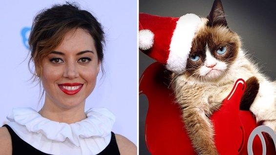 aubrey_plaza_grumpy_cat_split