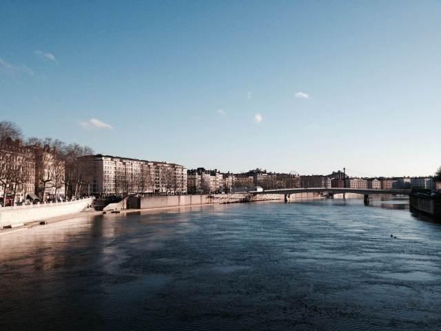 Lyon l'hiver