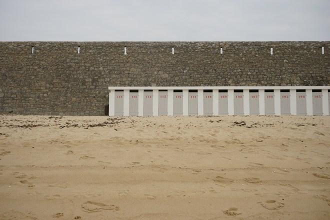 les cabines - Port-Louis, Bretagne
