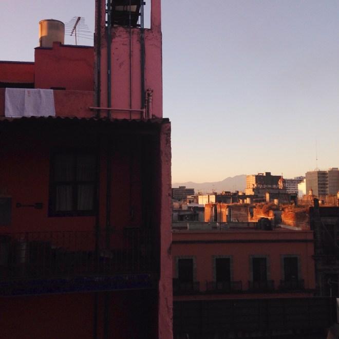 le petit matin de Mexico