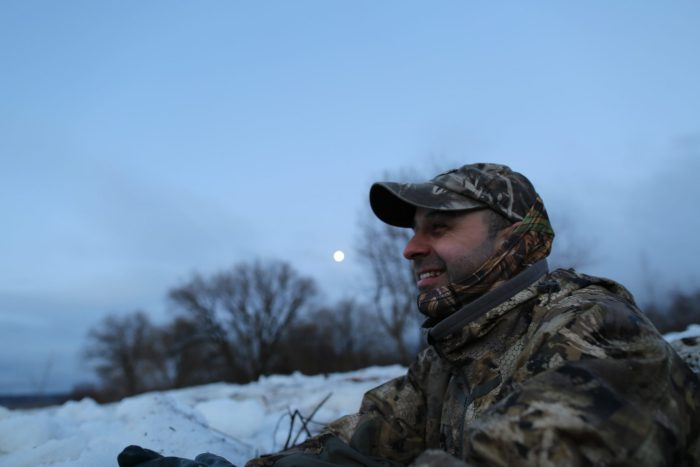 Spring Snow Goose Hunt at the Pit Blind