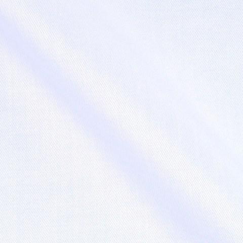 Hellblauer Twill Stoff aus reiner Baumwolle