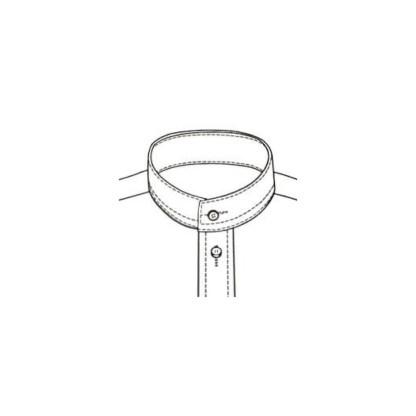 Slim Fit – Leinenhemd mit Stehkragen – Extra Soft Linen