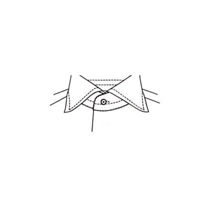 Slim Fit – Smokinghemd mit Kent Kragen – Popeline Two Ply