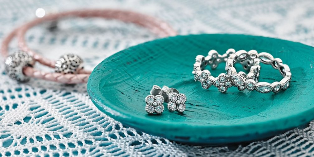PANDORA Earrings and Rings