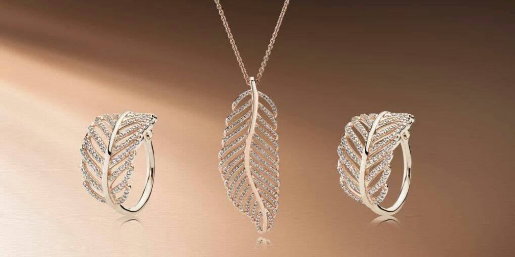 PANDORA Rose Light as a Feather Jewelry
