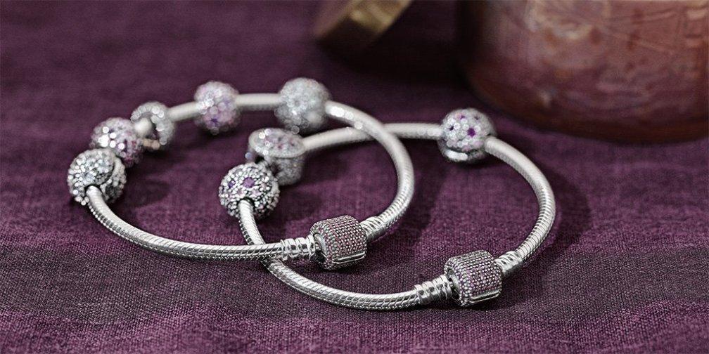 PANDORA Pavé Clasp Bracelet