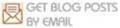 Get posts in inbox by email, envelope mail icon and logo for blogs Feedburner Google webmaster tool
