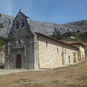 Iglesia de Carrea en Teverga, Asturias