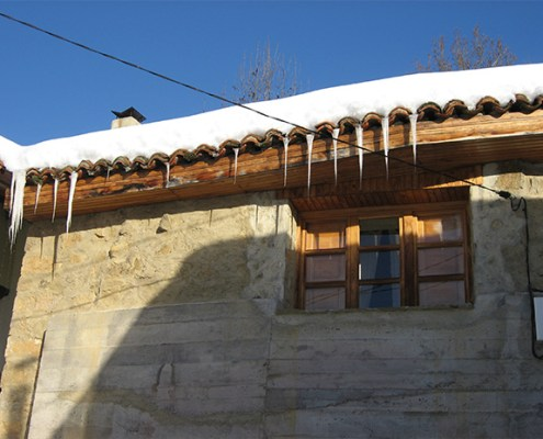 Nevada casa rural La Carrozal Asturias Teverga