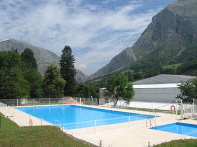 Piscina de montaña en Teverga, Asturias