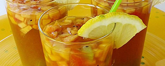 Gastronomía asturiana, sangría de sidra