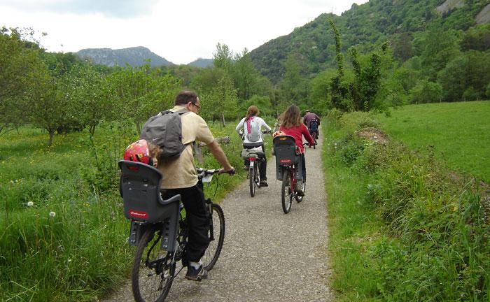 Montar bicicleta BBT en Asturias