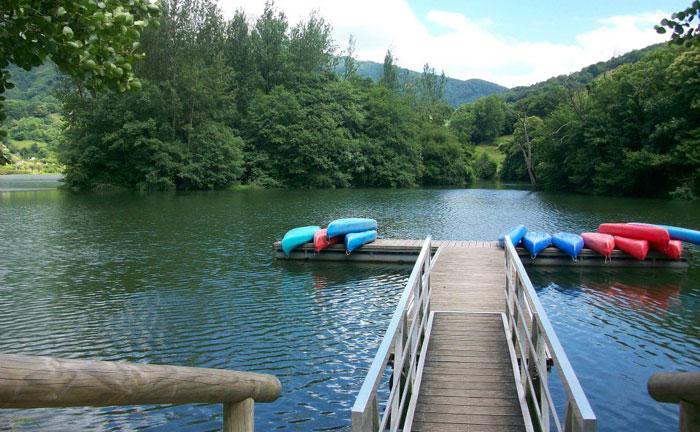 Paseos en piragua, canoa, embalse valdemurio