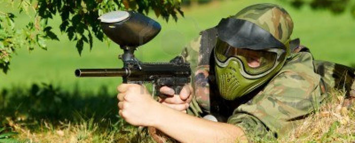 Paintball en la naturaleza de Asturias