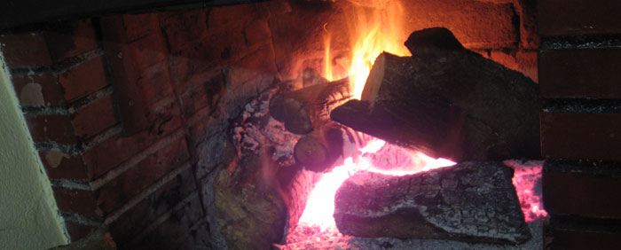 Casa rural con chimenea Asturias