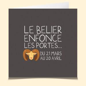 Bélier Horoscope La Carte Vocale.com