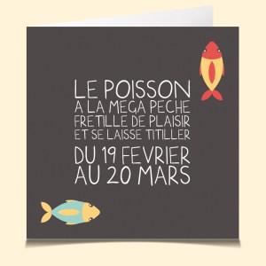 Poisson horoscope www.lacartevocale.com