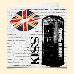 carte vocale parlante London Kiss voyage