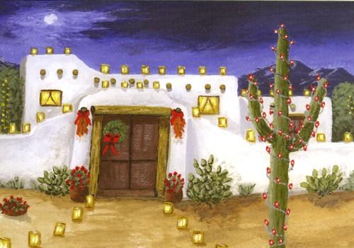 Southwest ChristmasHoliday Cards