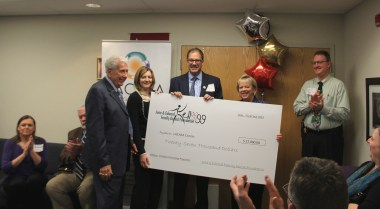 Kellogg Foundation Check Presentation 12.2014