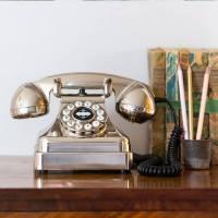 Teléfonos retro-chic