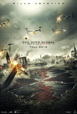 Resident Evil Retribution póster