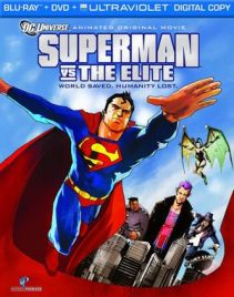 Superman vs The Elite Blueray DVD Cover