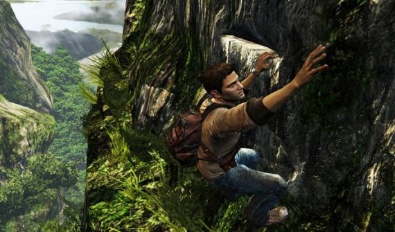 uncharted golden abyss touch screen climbing