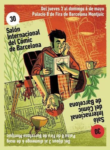 30 salon del comic barcelona cartel
