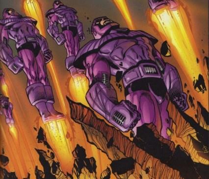 Los Centinelas comienzan la caza de mutantes