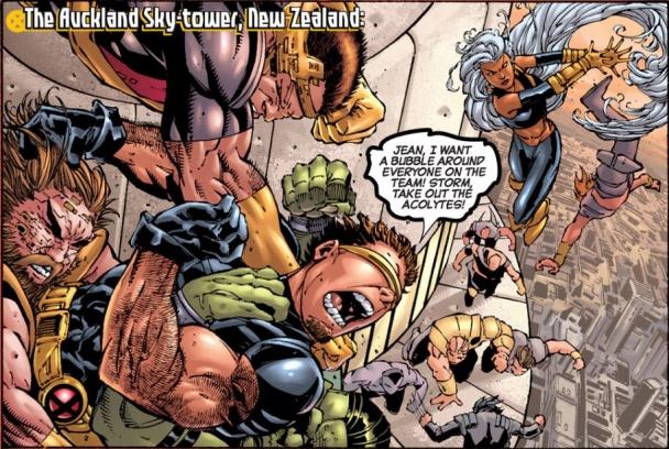 Ultimate X-Men: Gira Mundial