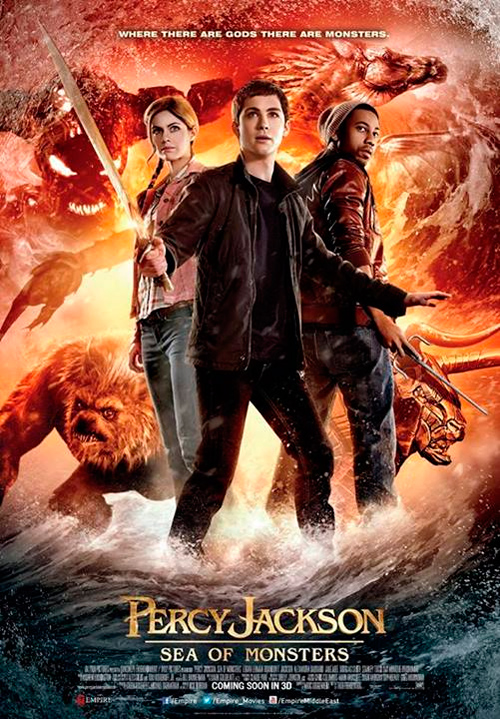 percy jackson sea of monsters group poster2