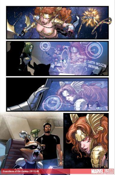 Página de Guardians of the Galaxy #5