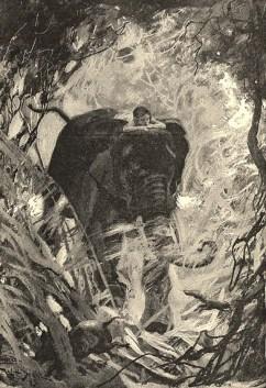 Ilustración de J. L. Kiplin para el libro de su hijo
