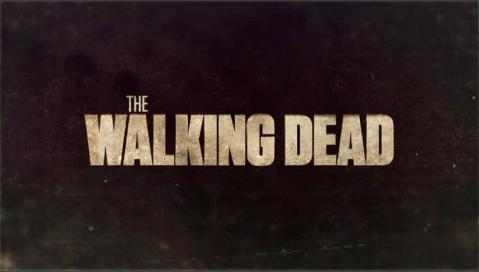 Letrero serie The Walking Dead