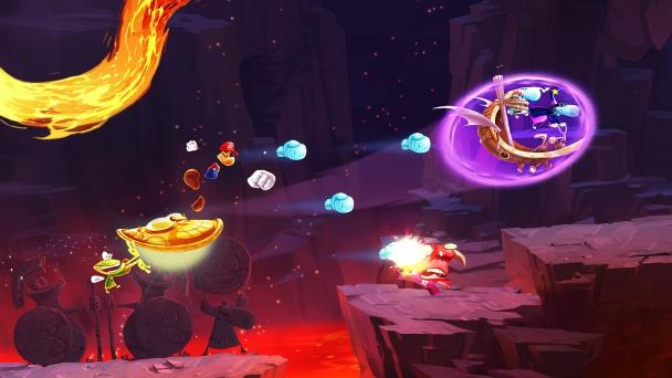 Rayman Mario Olympus Pursuit