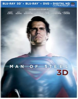 Poertada edición 3D Hombre de Acero