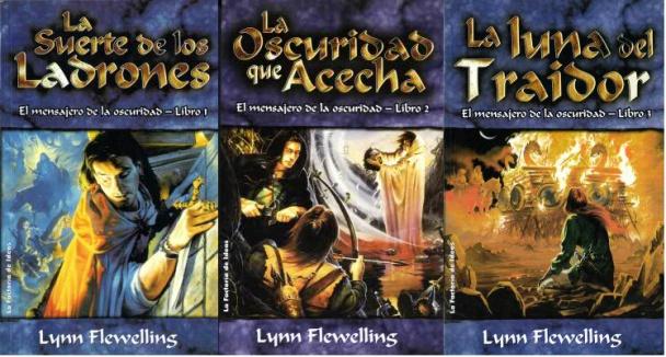 Lynn Flewelling, autora de la serie Nightrunners o El mensajero de la oscuridad (la suerte de los ladrones, La Oscuridad que acecha y la Luna del traidor)