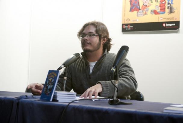 Sergio Gallardo en el pasado Salón del Cómic de Zaragoza