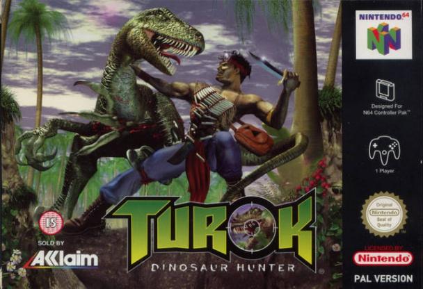Turok: Dinosaur Hunter N64