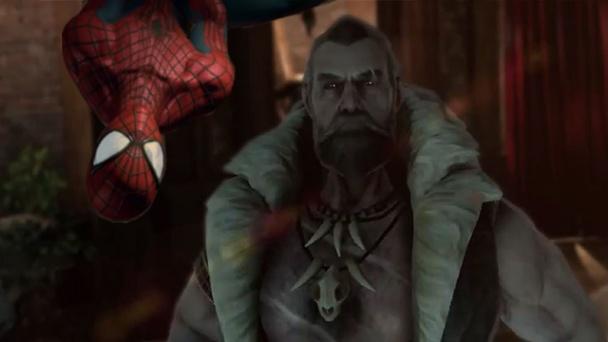 amazing spider man kraven