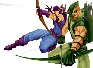 hawkeye vs green arrow