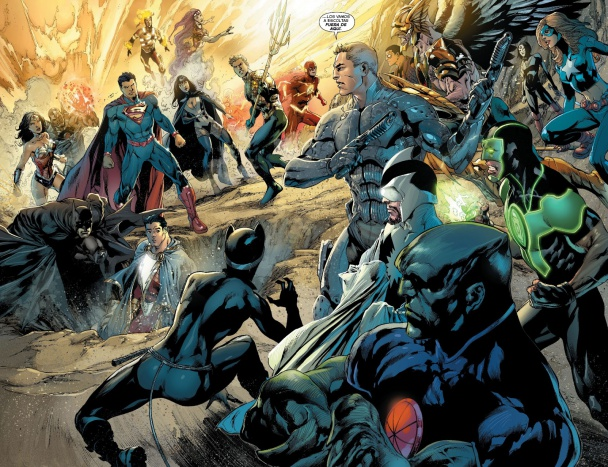 Justice-League trinity war